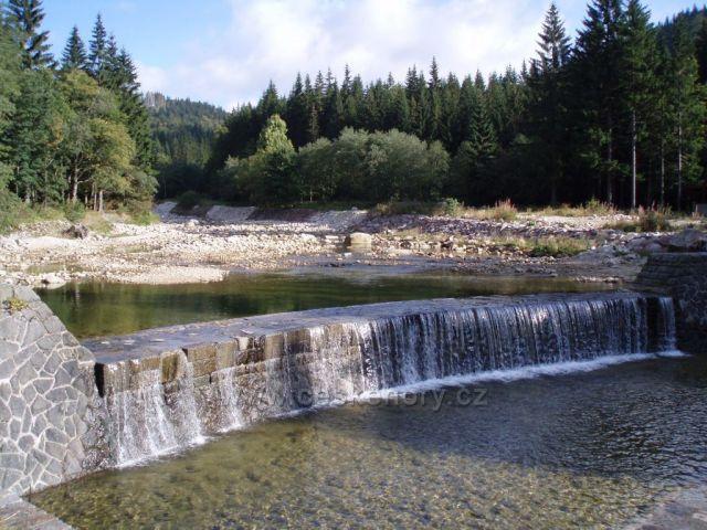 vodopád ve Špindlerově Mlýně