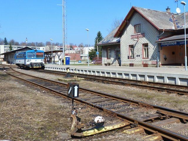 Rokytnice v Orlických horách - nádraží ČD