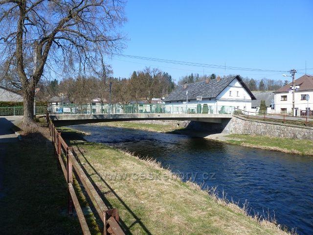 Žamberk - most přes Divokou Orlici na Drahách