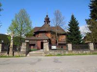 Dřevěný kostel ve Velkých Karlovicích