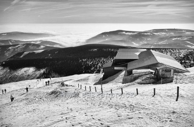 únor na naší nejvyšší hoře