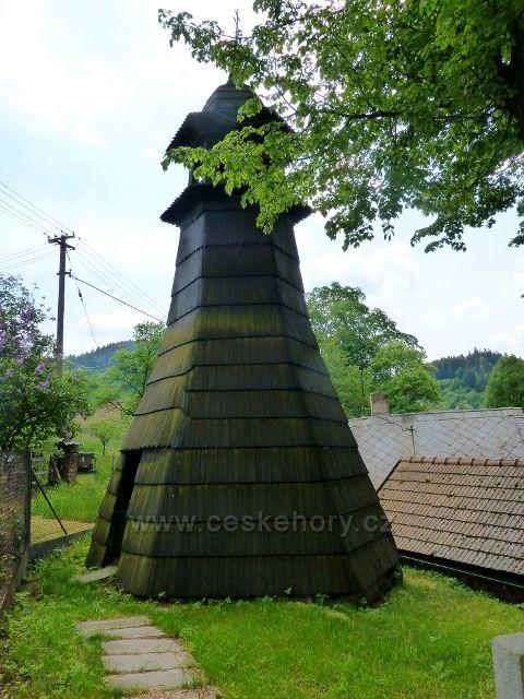 Bohousová - Zvonička v obci