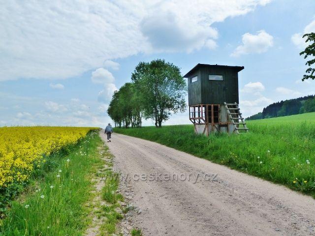 Bohousová - posed u cyklostezky do České Rybné