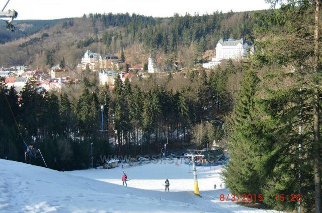 lyžování v lázních