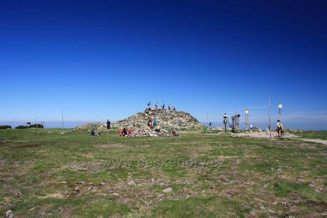 vrcholovka Králického Sněžníku