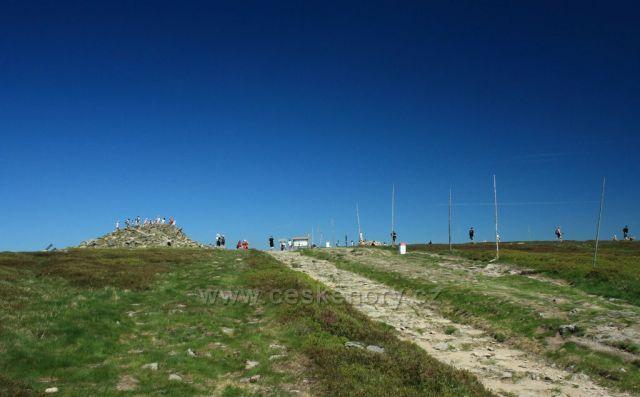 vrcholové azuro Králického Sněžníku