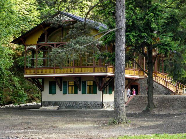 Současná Tančírna v Račím údolí - po rekonstrukci