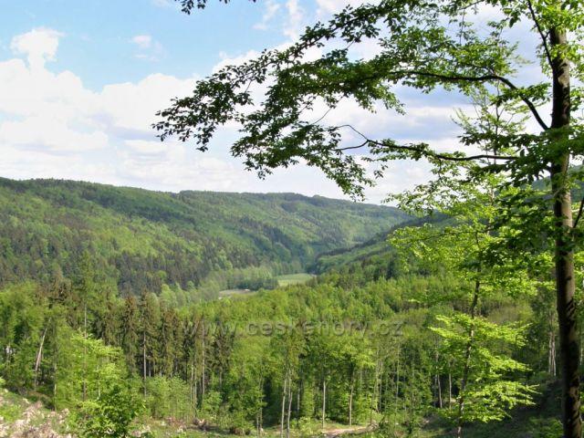 Okolo Sovince, cestou k Rešovským vodopádům