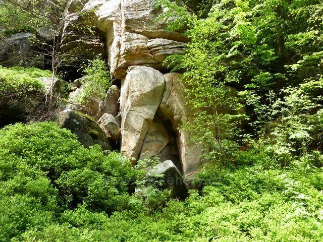 Teplické skály - skalní útvar Krakonošovy šortky