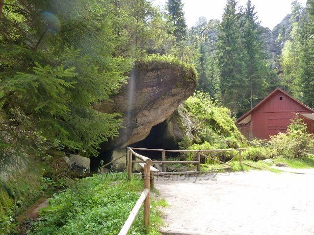 Teplické skály - objekt U skalní nevěsty