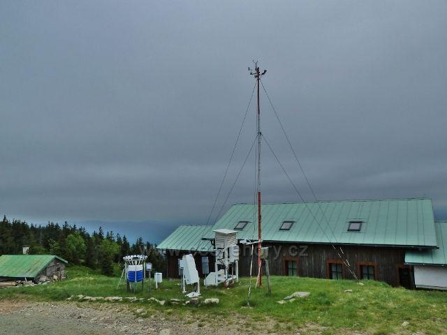 Ramzová - meteorologická stanice na Šeráku