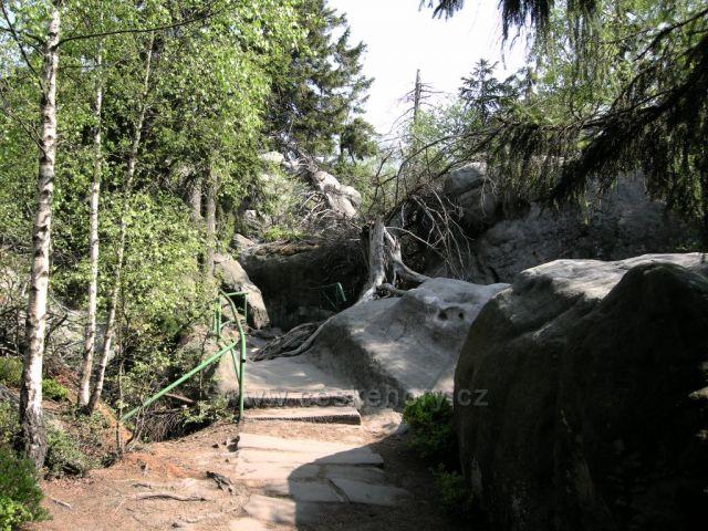 Hejšovina -procházka skalním městem