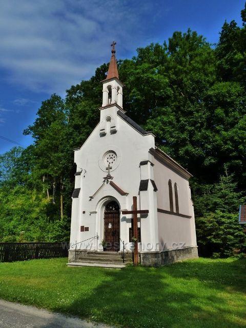 Nýznerov - kaple Nanebevzetí Panny Marie z roku 1901