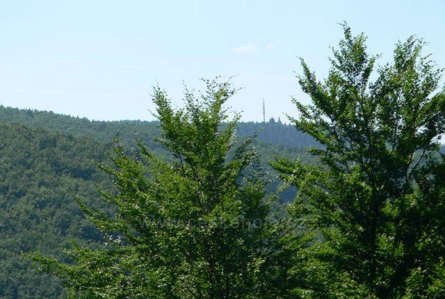 pohled z lanovky na Radhošť