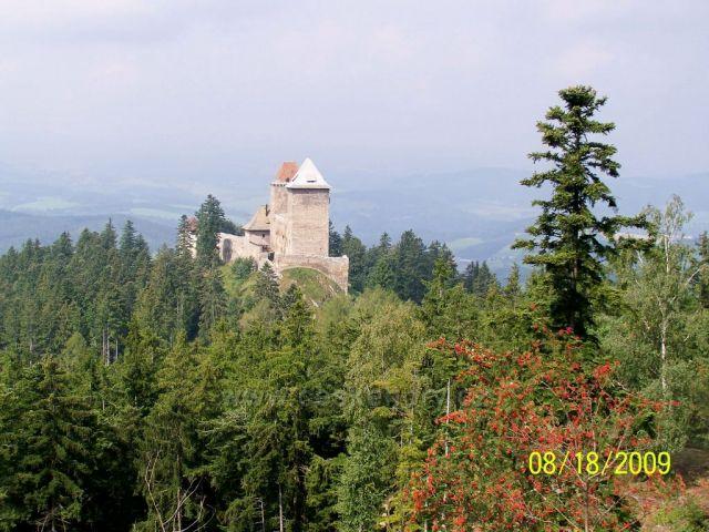 hrad Kašperk....