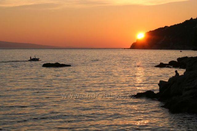 Západ slunce v Pisaku