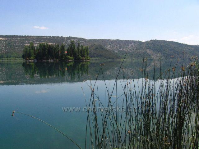 Visovacké jezero, ostrůvek Visovac