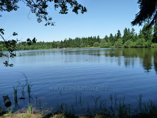 Českomoravská vrchovina rybník Sykovec