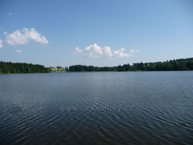 Českomoravská vrchovina rybník Medlov