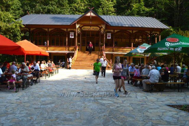 Slavnostní otevření Tančírny v Račím údolí 24.7.2015