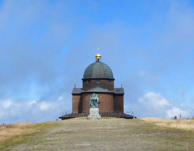 Pustevny-Radhošť-kaple sv.Cyrila a Metoděje