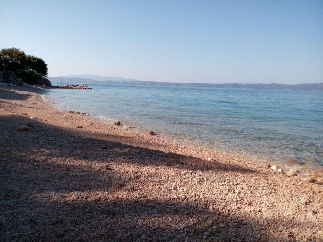 ranní pláž