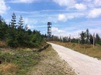 Rozhledna na Hnědém vrchu v Krkonoších
