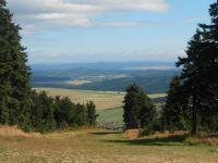 Pohled z Klínovce směr Děčínský Sněžník