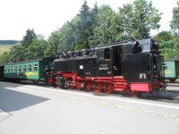 úzkokolejka Oberwiesenthal - Fichtelberg