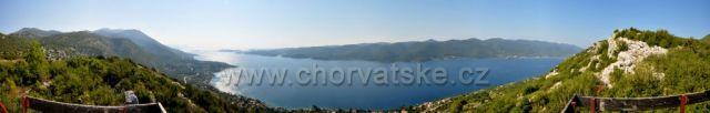 Vyhliadka Nakovana smer Korčula