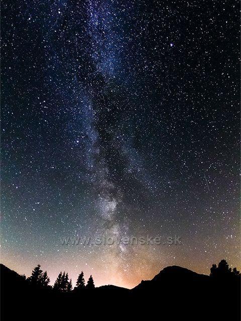 Mliečna Dráha nad Chočom