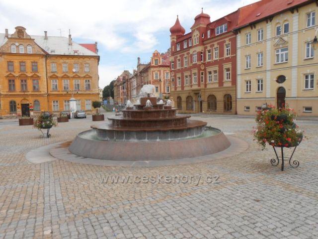 náměstí ve Vejprtech