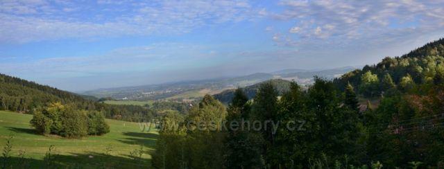 Waltersdorf-pohled z terasy