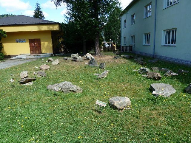 Jeseník - geologické muzeum v Palackého ulici