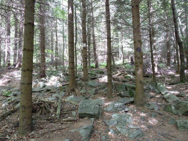 Lázně Jeseník - stezka od Bezručova k Rumunskému pramenu