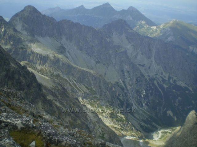 pohled z Lomnického Štítu