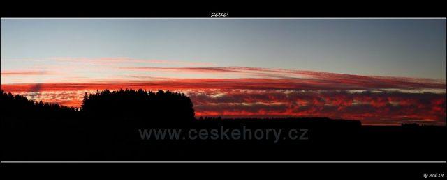 Podzimní podvečer na Chotěbořsku