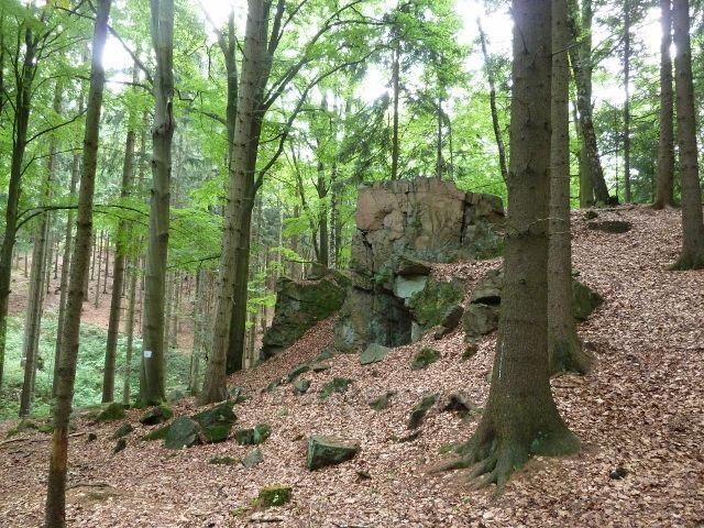 Hradisko - areál přírodní motlitebny Českých bratří