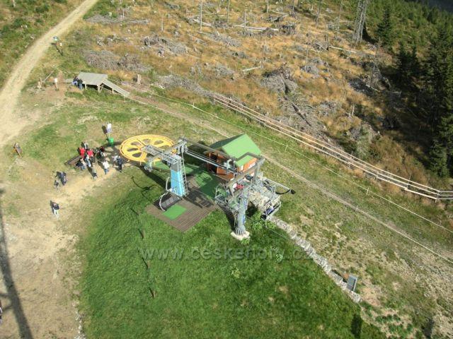 lanovka na Hnědý vrch v Krkonoších