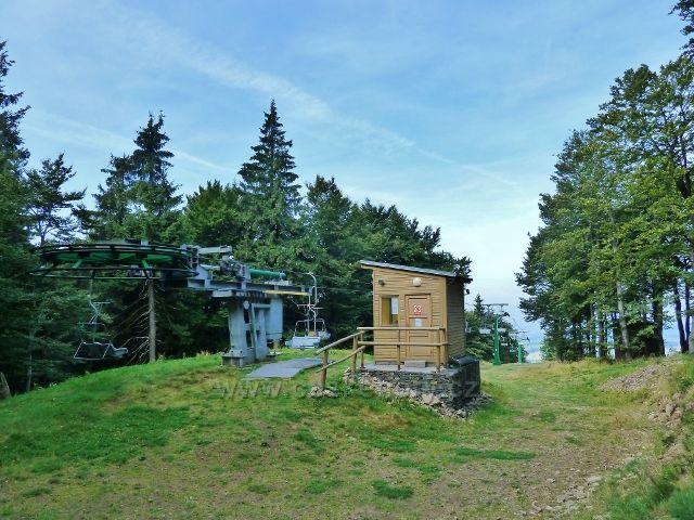 Buková hora - horní stanice lanovky z Čenkovic