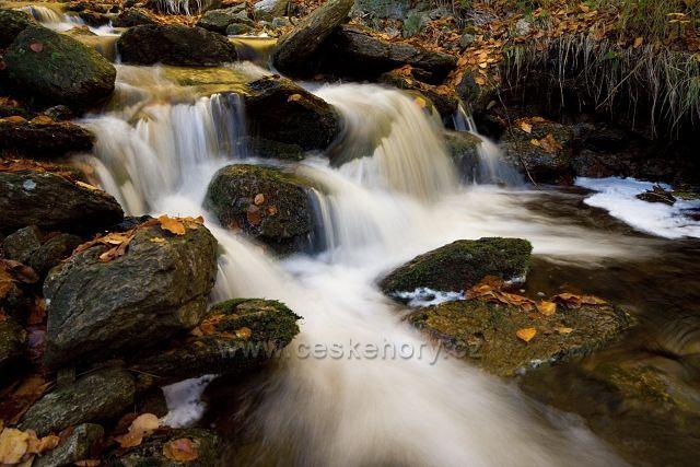 Potok pod Medvědími vodopády