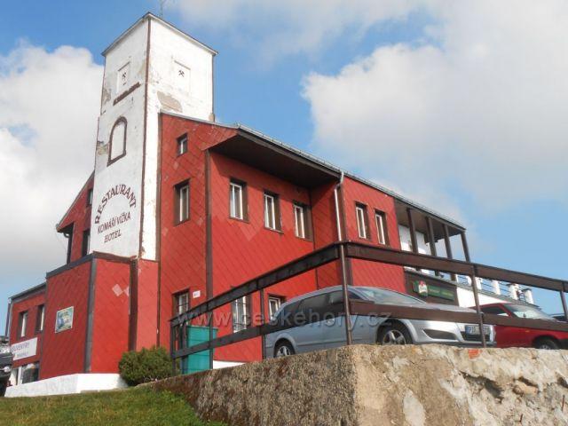 hotel a restaurace na Komáří Vížce