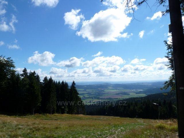 Buková hora - horní část Mlýnické sjezdovky