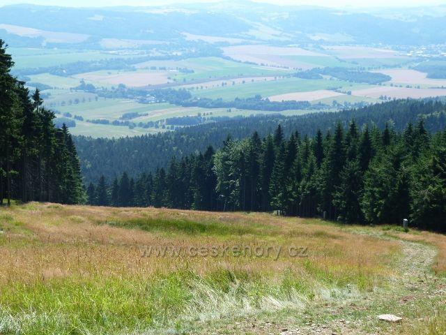 Buková hora - sjezdovka do Mlýnického Dvora