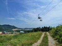 Buková hora - nad dolní stanicí lanovky z Mlýnického Dvora