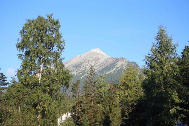 Slavkovský štít z Tatranské Lesné