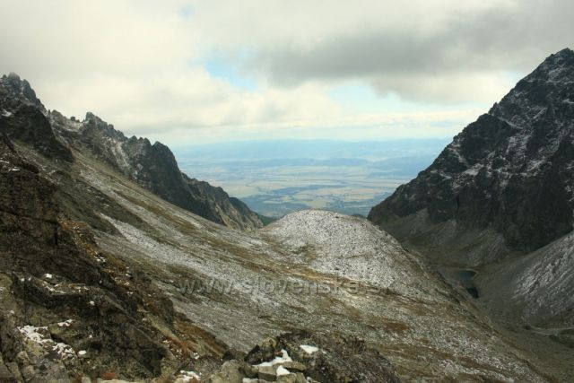 Velická dolina z Východné Vysoké
