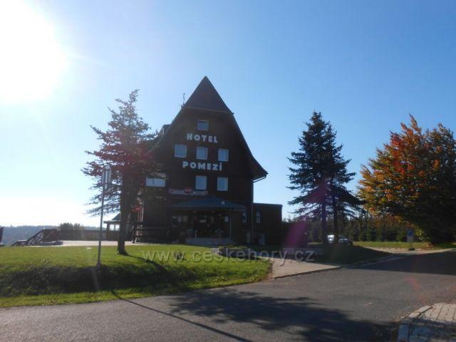 Cínovec - horský hotel Pomezí