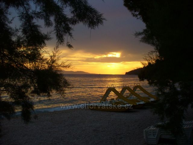 Tučepi-západ slunce