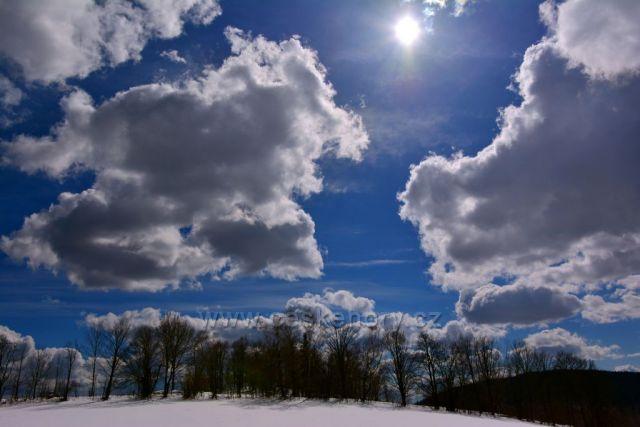 Obloha nad Pekařovem